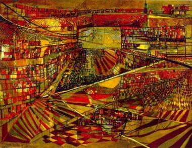 peinture,art contemporain,vieira da silva