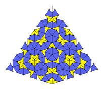 art cinétique,mathématique,symétrie,pavage de penrose
