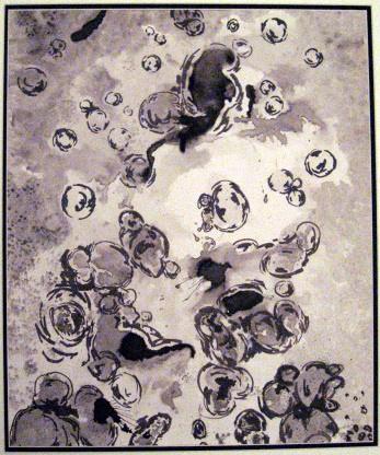 peinture,dessin,abstrait encre de chine
