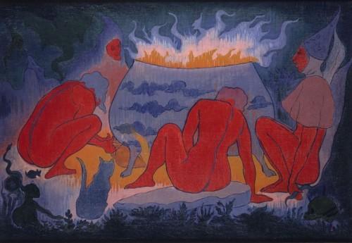 Les sorcières autour du feu Paul-Elie Ranson.jpg