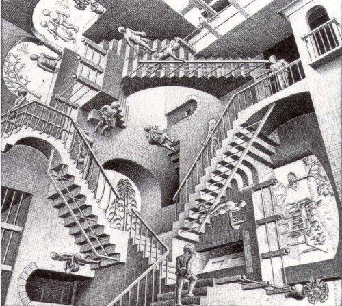 12-10-09 Escalier 1 Escher.jpg