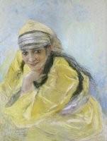 lucien-levy-dhurmer-portrait-de-jeune fille Marrakech.jpg