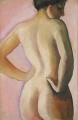 August Macke - Nu de dos sur fond rose (1911).jpg