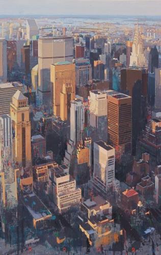 peinture, ville