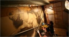 peinture, décoration, exposition